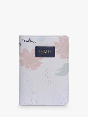 Radley Painterly Floral Passport Cover, Multi