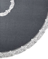 "Sferra Talley 90"" Round Tablecloth & 12 Napkins"