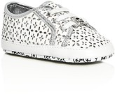 MICHAEL Michael Kors Girls' Baby Boerum Metallic Perforated Slip On Sneakers - Baby