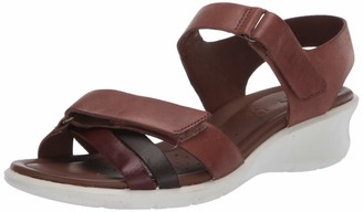 Ecco womens Felicia Ankle Strap Wedge Sandal