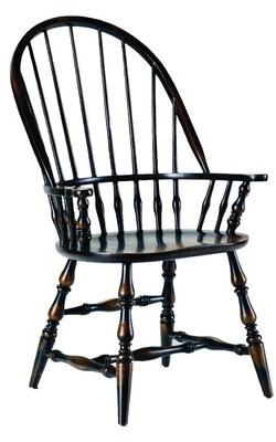 Hooker Furniture Windsor Arm Chair in Wenge (Set of 2
