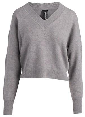 Naadam Deep V-Neck Cashmere Pullover