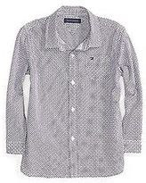 Tommy Hilfiger Little Boy's Micro Print Shirt