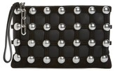 Alexander Wang Women's Roxy Studded Cage Leather Wristlet - Black