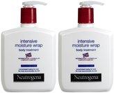 Neutrogena Norwegian Formula Intensive Moisture Wrap Body Treatment, Fragrance Free, 10.5 oz, 2 pk