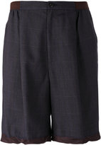 Kolor loose fit shorts - men - Cupro/Viscose/Polyester - 4