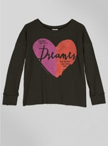 Junk Food Clothing Kids Girls Dreamers Long Sleeve-jtblk-s