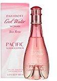 Davidoff Cool Water Women Sea Rose Pacific Summer By 3.4 Ounce Eau de Toilette Spray