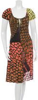 Issa Silk Printed Dress