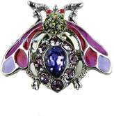 Jay Strongwater Gorgeous Tack Wasp Nils Pin Brooch Purple