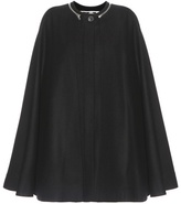 McQ by Alexander McQueen Wool-blend Poncho