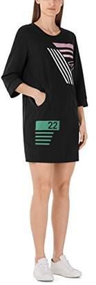 Marc Cain Women's KS 21.07 J64 Dress, (Black 900), 6