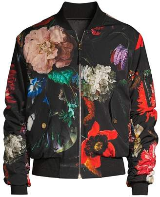 Paul Smith Masters Reversible Floral Wool-Blend Bomber Jacket