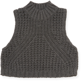 Autumn Cashmere Mock Neck Cotton Tabard