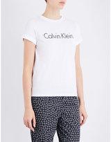 Calvin Klein Logo-print cotton-jersey pyjama T-shirt