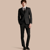 Burberry Slim Fit Half-canvas Evening Jacquard Jacket