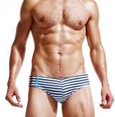 Mendove Men's Beach Lace-Up Boxer Swimming Brief Shorts Size S US