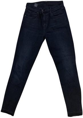 J Brand Black Cotton - elasthane Jeans for Women