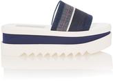 Stella McCartney Denim Platform Sandals