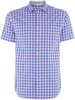 Howick Men's Astor Gingham Short Sleeve Shirt
