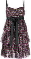 RED Valentino sequinned short dress