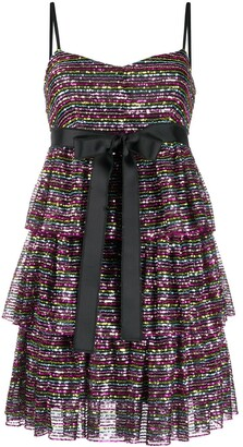 RED Valentino Sequinned Short Dress
