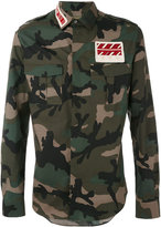 Valentino camouflage shirt - men - Cotton/Polyester/Viscose - 39