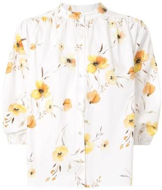 Bec & Bridge Colette floral print shirt