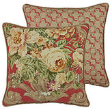 Rose Tree Durham Floral Link Square PIllow