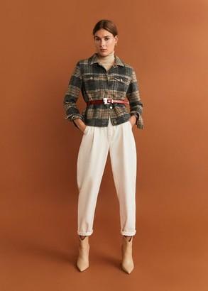 MANGO Jeans Slouchy Regina khaki - 1 - Women