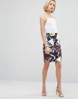 Clover Canyon Floral Rhythm Mini Skirt
