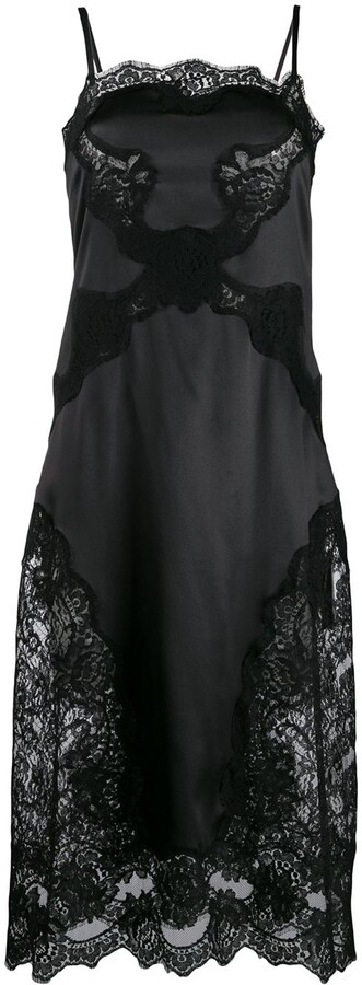 Dolce & Gabbana satin slip dress