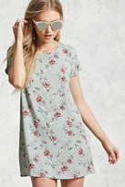 Forever 21 FOREVER 21+ Floral Print Shift Dress