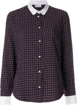 RED Valentino check blouse