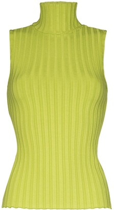 Simon Miller Cora ribbed turtleneck top