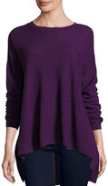 Eileen Fisher Long-Sleeve Merino Links Top, Petite