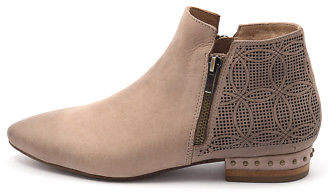 Django & Juliette New Verona Latte Leather Latte Womens Shoes Casual Boots Ankle