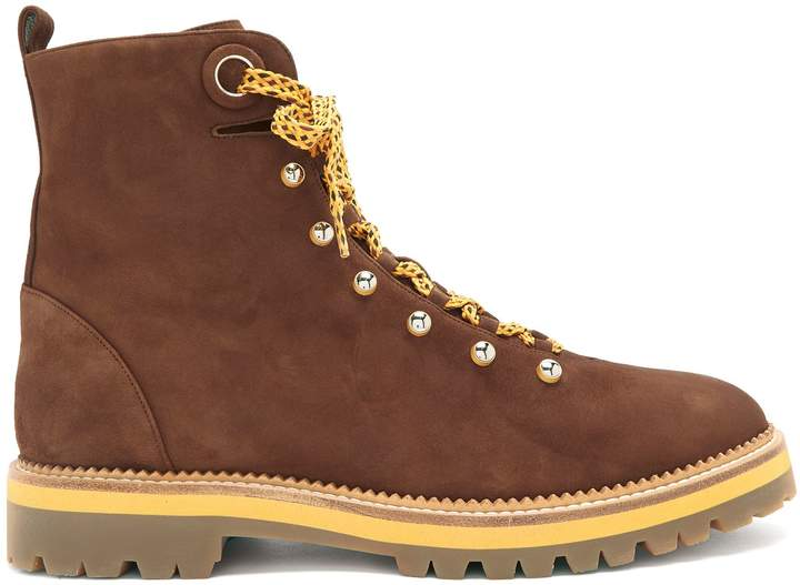 Aquazzura Hiker tread-sole suede ankle boots