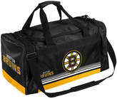 Forever Collectibles Boston Bruins Striped Core Duffle Bag