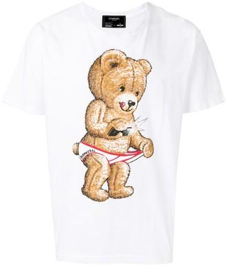 Dom Rebel DOMREBEL teddy bear T-shirt
