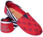 Forever Collectibles Women's St. Louis Cardinals Canvas Stripe Shoes