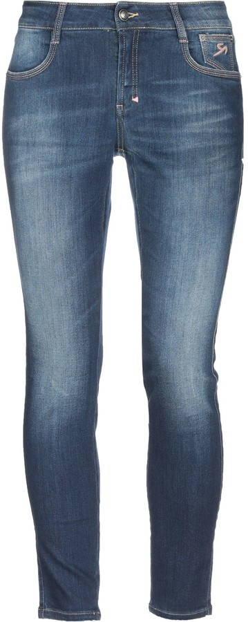 9.2 By Carlo Chionna Denim pants - Item 42721609JO