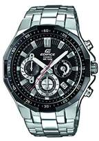 Casio Edifice Men's Analogue Quartz Watch with Stainless Steel Bracelet – EFR-554D-1AVUEF