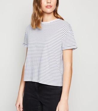 New Look Stripe Boxy T-Shirt