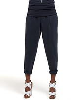 Silk Utility Pants