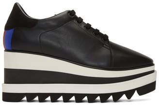 Stella McCartney Black Elyse Platform Oxfords