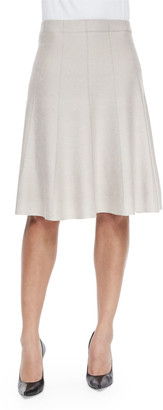 Nic+Zoe Petite Paneled Twirl Skirt