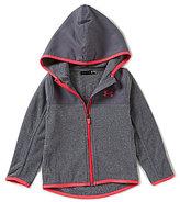 Under Armour Little Girls 2T-6X Hundo Fleece Hoodie Jacket