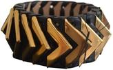 Balmain Black Leather Bracelet