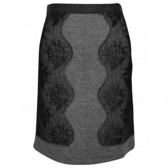 Alessandro Dell'Acqua Grey Wool Skirts